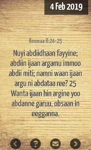 Oromo  Bible Verse 4