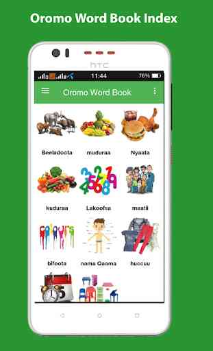 Oromo Word Book with Pictures 1