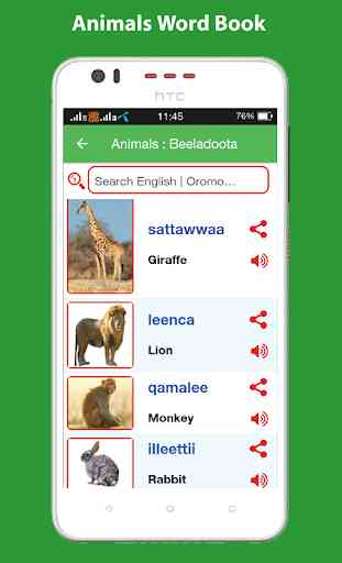 Oromo Word Book with Pictures 3