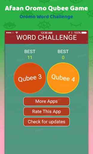 Qubee Afaan Oromoo Puzzle - Oromo Game 1