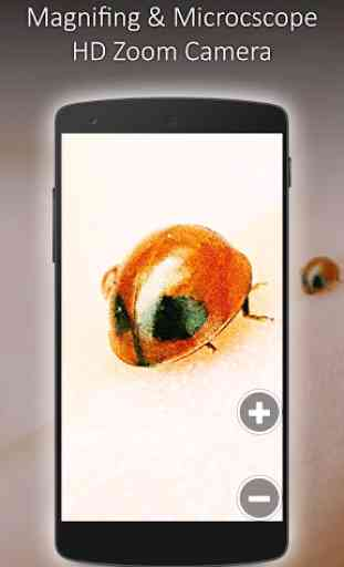 Magnifying and Microscope HD Zoom Camera 4