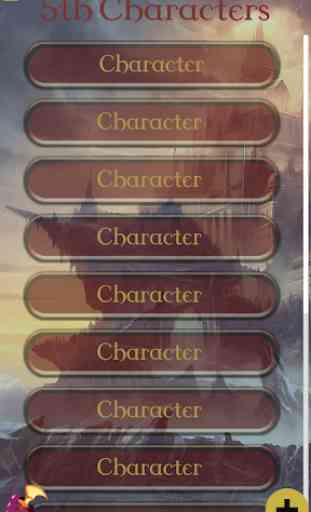 5th Character Sheet 1