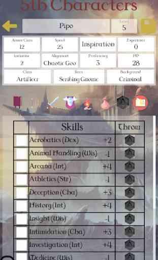 5th Character Sheet 3