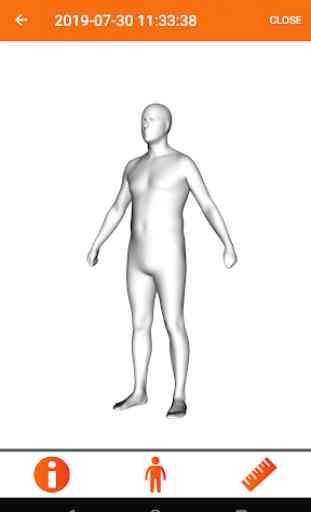 3D avatar body 4
