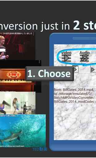 Batch MP3 Video Converter, many files with 1 click 1