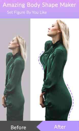 Body Shape Editor : Girl Body Curves 4