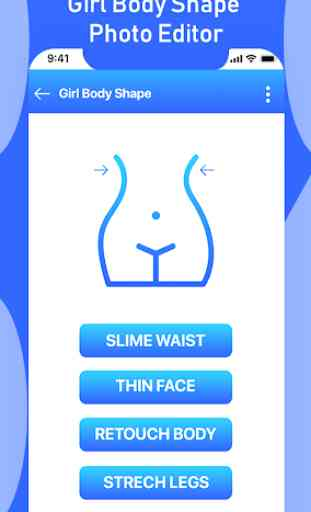Girl Body Shape Editor : Body Shape Curve Effects 1