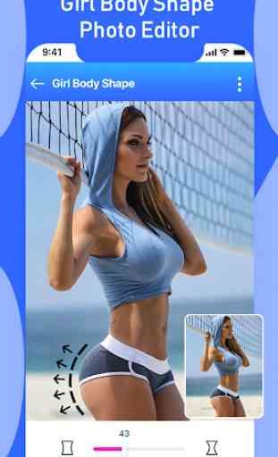 Girl Body Shape Editor : Body Shape Curve Effects 2