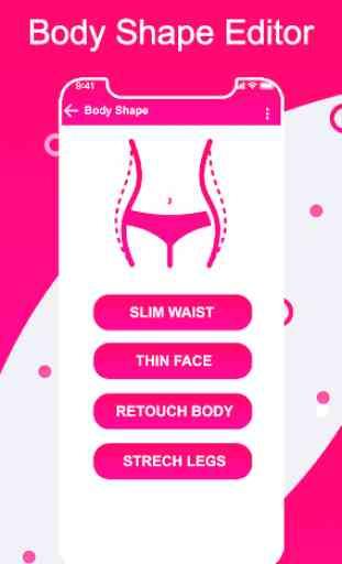 Girl Body Shape Photo Editor : Body Curve Effects 1