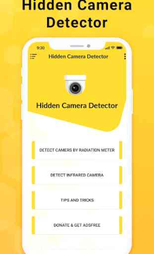 Hidden Camera Detector - CCTV Finder image 1