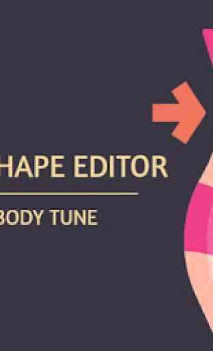 Women Body Shape Editor - Make Me Slim Body Tune 1