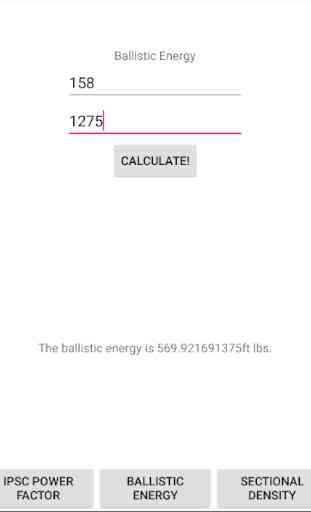 Ballistic Calculators 1