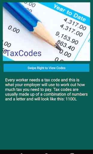 Tax Codes 1
