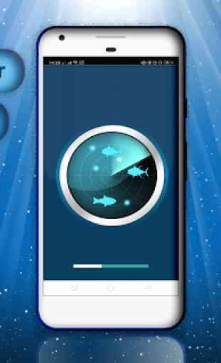 Fish SonarPhone - Deeper fish Locator Simulator 2