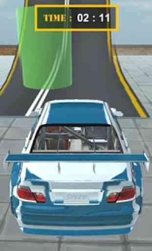 Real Theft Car Sky Auto Stunt 2