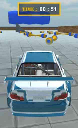 Real Theft Car Sky Auto Stunt 4