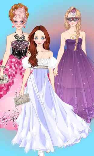 Doll Princess Prom Dress Up 1