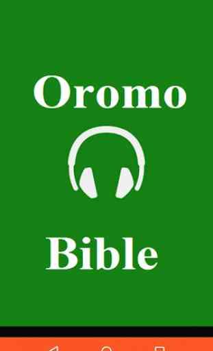 Oromo Bible Audio 1