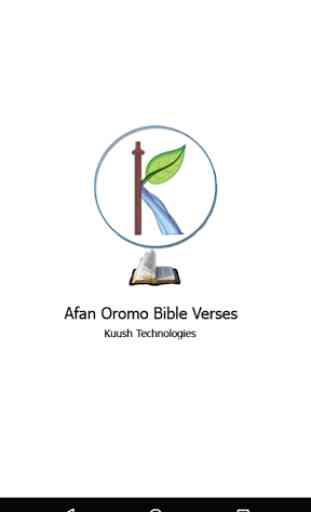 Afan Oromo Bible Verses 1