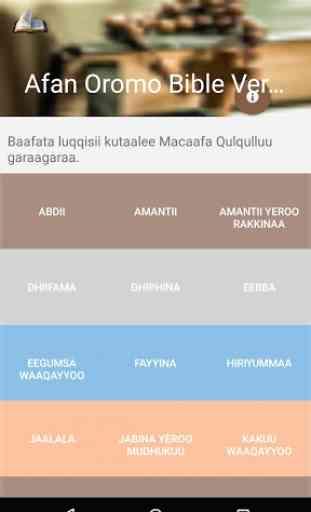 Afan Oromo Bible Verses 2