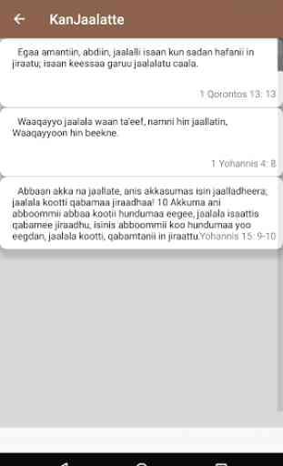 Afan Oromo Bible Verses 3