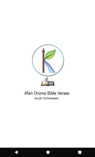 Afan Oromo Bible Verses 4