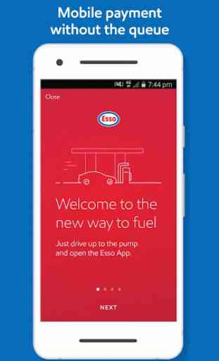 Esso: Pay for fuel & get points 1