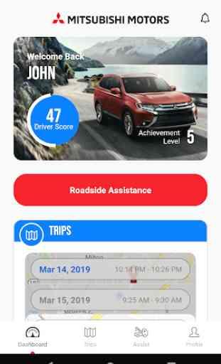 Mitsubishi Motors Road Assist+ 1