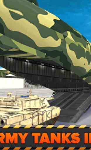 Army Cargo Plane Airport 3D 2