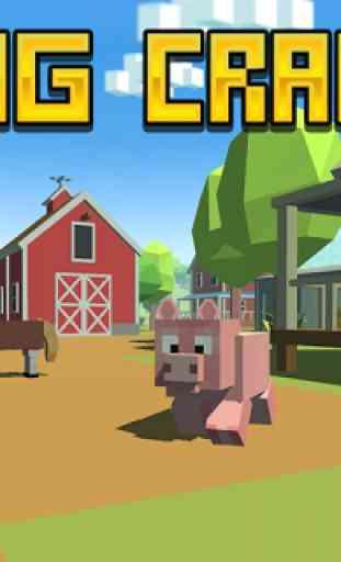 Blocky Pig Simulator 3D 1