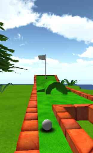 Cartoon Mini Golf Games 3D 1