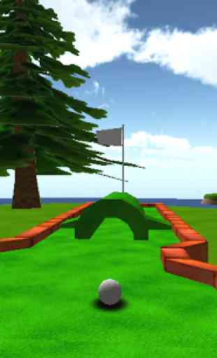 Cartoon Mini Golf Games 3D 2