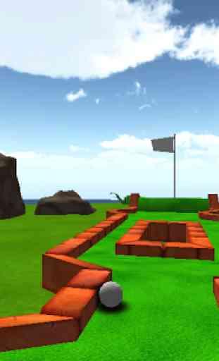 Cartoon Mini Golf Games 3D 3