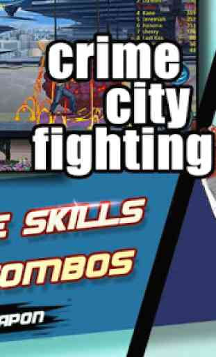 Crime City Fighting:cia raging 2