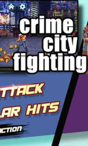 Crime City Fighting:cia raging 3