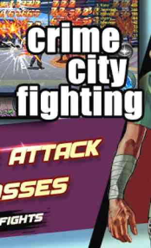 Crime City Fighting:cia raging 4