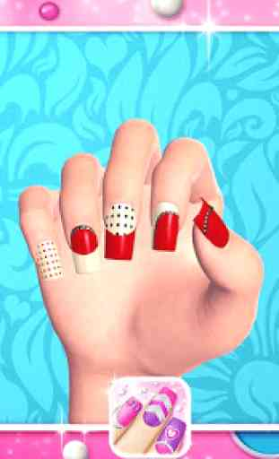 Fashion Nail Art Designs Game 4
