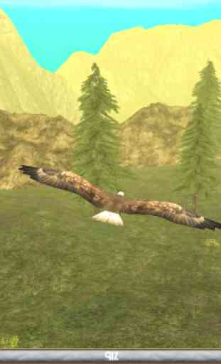 Wild Eagle Sim 3D 3