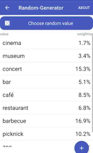 Random-Generator - Randomize Values with Weighting 2