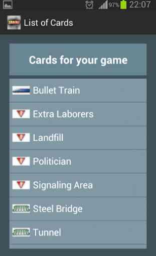 Trains Board Game Randomizer 2