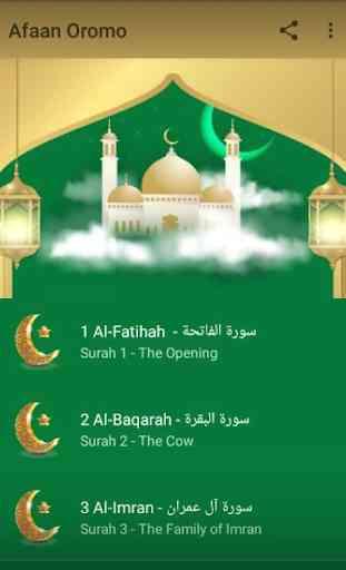 Quran translation in Afaan Oromo 1