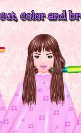 Free Girls Game Hair Salon 3