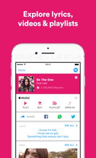 Shazam - Discover music, artists, videos & lyrics 3