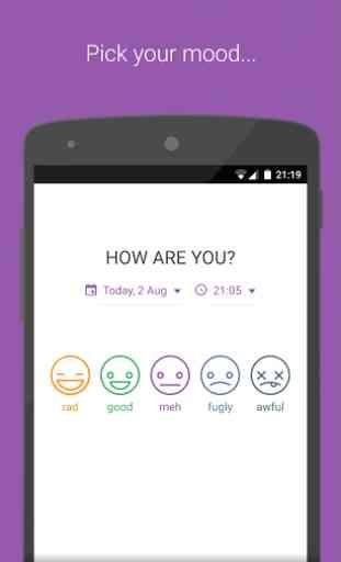 Diary - Mood Tracker 1