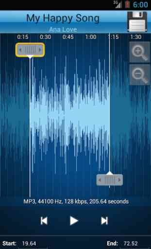 MP3 Cutter and Ringtone Maker♫ 3