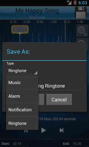MP3 Cutter and Ringtone Maker♫ 4