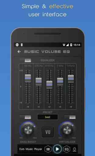 Music Volume EQ + Amplifier 4