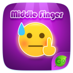 Best Middle finger emoji free keyboard apps for Android