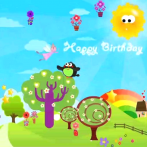 happy birthday video apps for android
